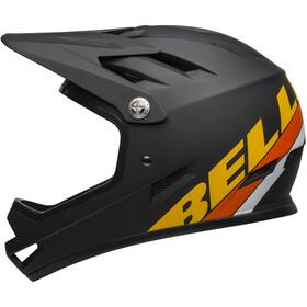 Bell Sanction Casco, agility matte black/yel/orange